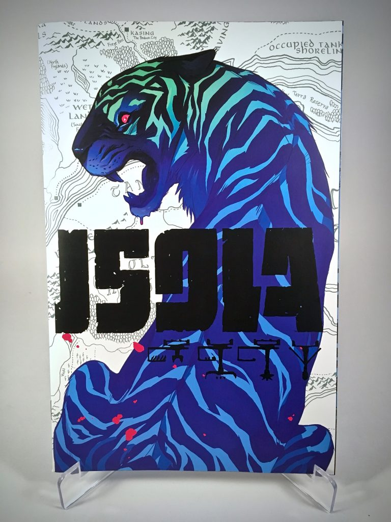 Isola #2 cover by Karl Kerschl and Msassyk
