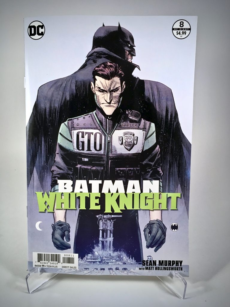Batman: White Knight #8 cover by Sean Murphy and Matt Hollingsworth
