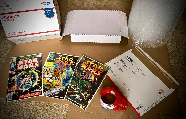 Shipping Comics