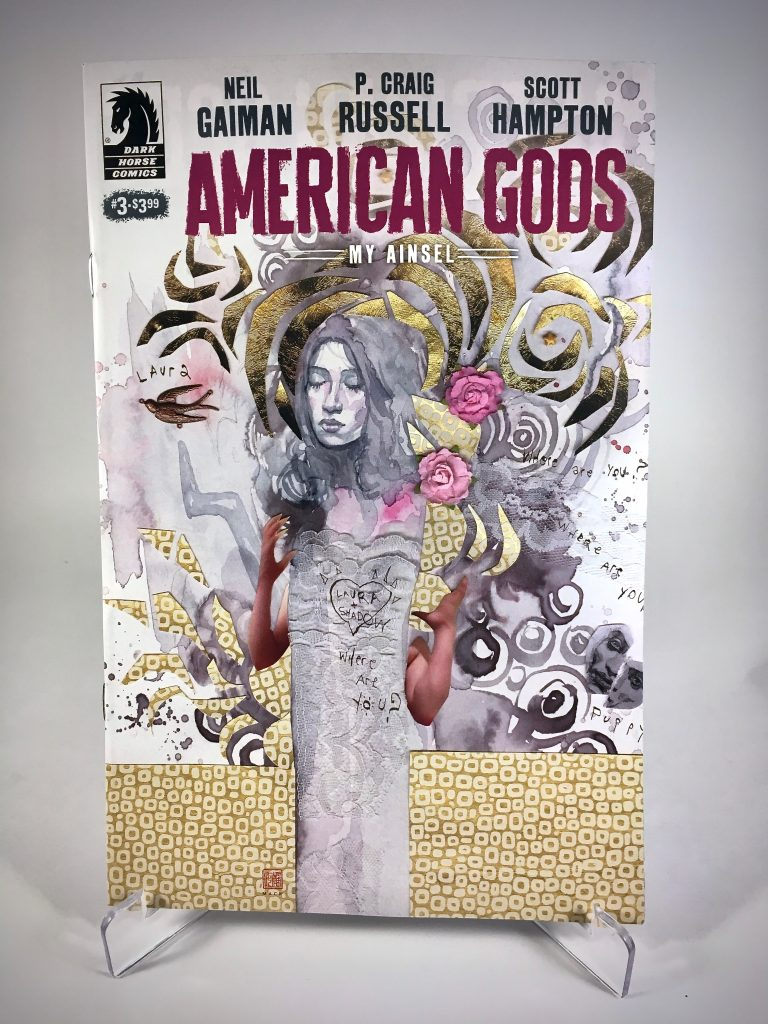 American Gods: My Ainsel #3 cover by David Mack