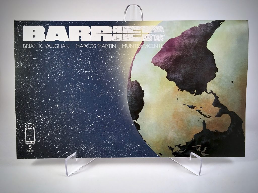 Comic Book Cover: Barrier #5 by Marcos Martin