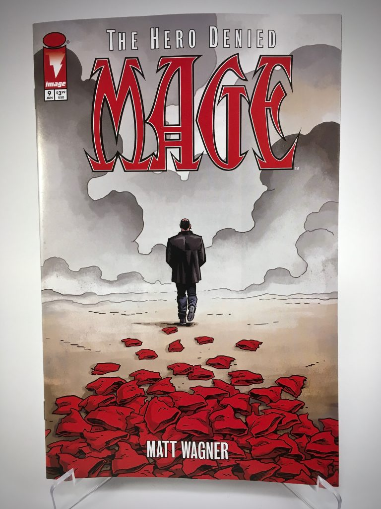 Comic Book Cover: Mage: The Hero Denied #9 by Matt Wagner