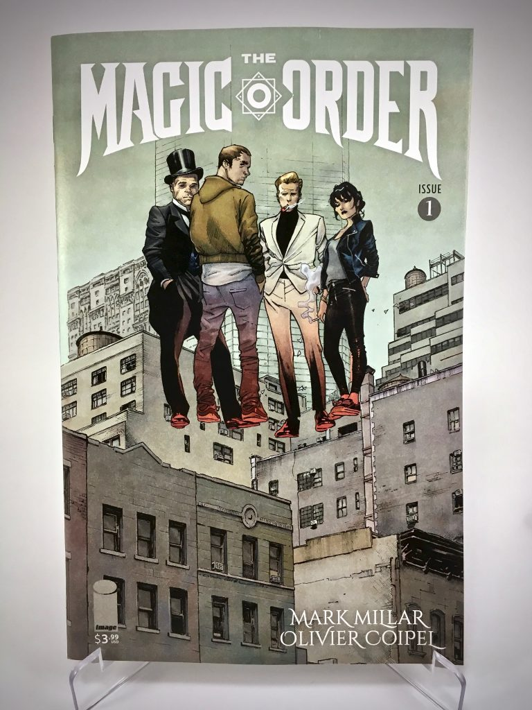 Comic Book Cover: The Magic Order #1 by Olivier Coipel