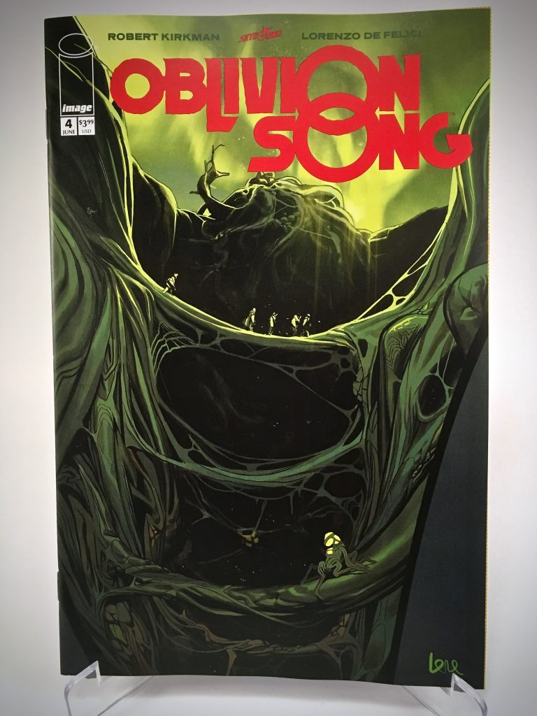 Comic Book Cover: Oblivion Song #4 by Lorenzo De Felici