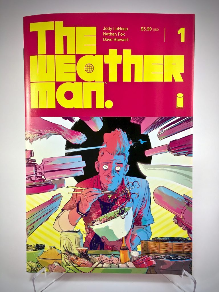 Comic Book Cover: The Weather Man #1 by Nathan Fox