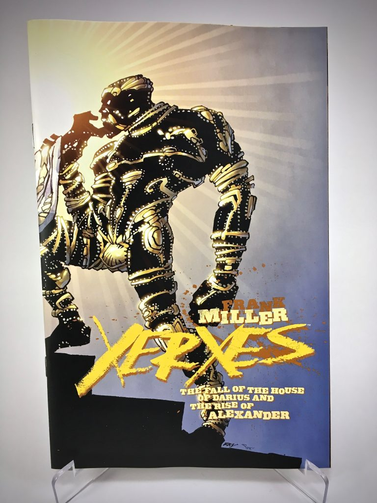 Xerxes #3 cover by Frank Miller and Alex Sinclair