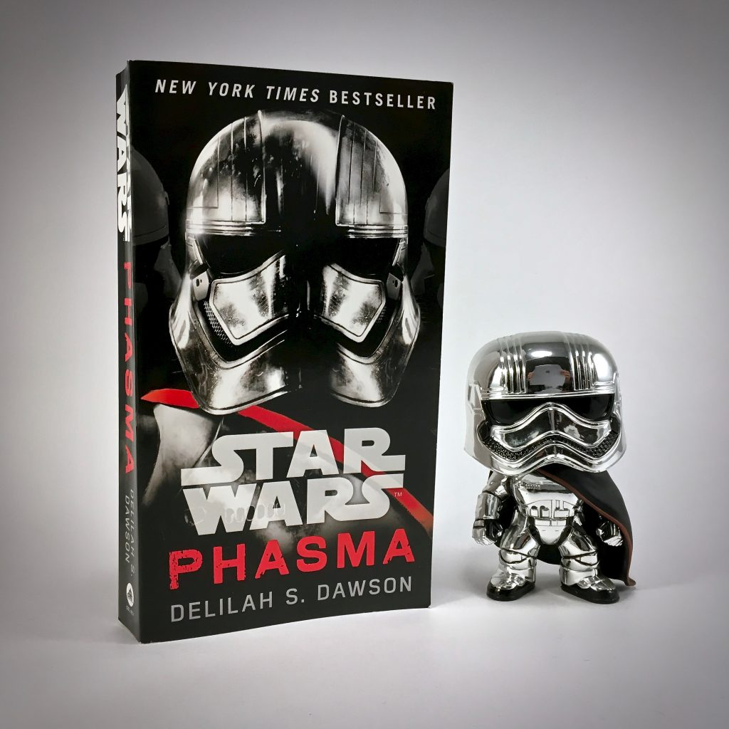 Captain Phasma Funko Pop and Novel