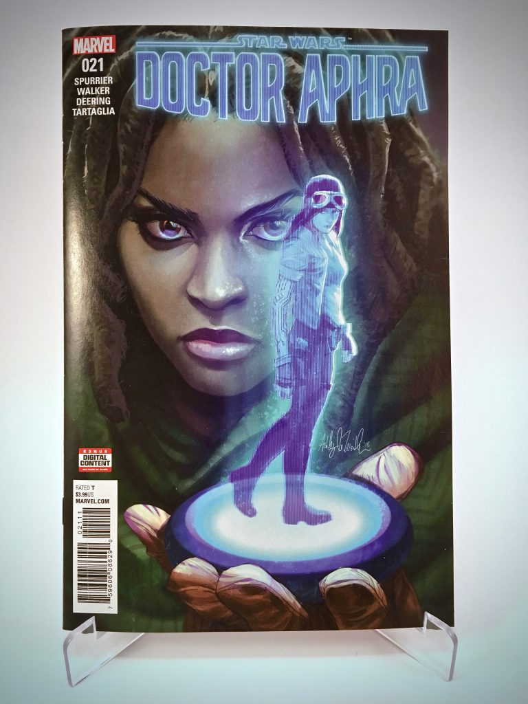 Comic Book Cover: Doctor Aphra #21 by Ashley Witter