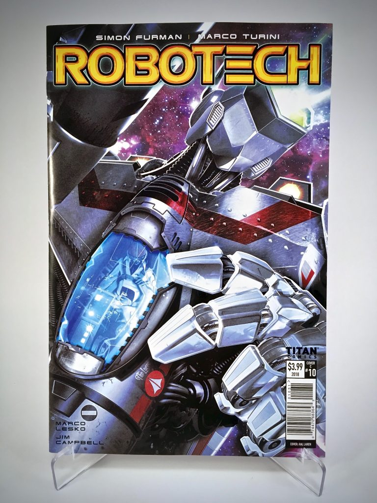 Comic Book Cover: Robotech #10 by Hal Laren